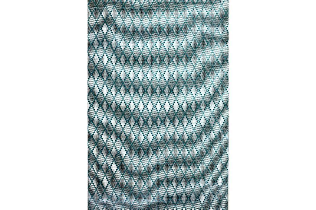 Matto Diamond Kerma/Turkoosi 160x230 - Pierre Cardin - Sisustustuotteet - Matot - Kuviolliset matot