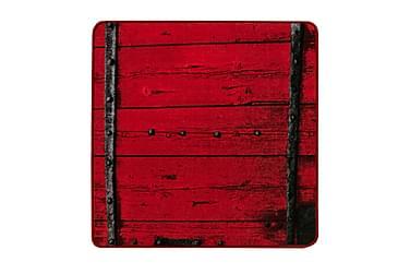 Matto Hirsi 80x80 red