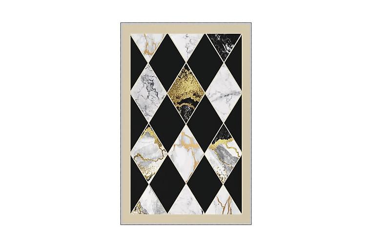 Matto Homefesto 100x150 cm - Monivärinen - Sisustustuotteet - Matot - Kuviolliset matot