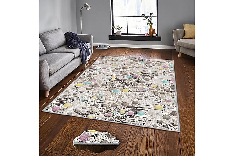 Matto Homefesto 7 100x200 cm - Monivärinen - Sisustustuotteet - Matot - Kuviolliset matot