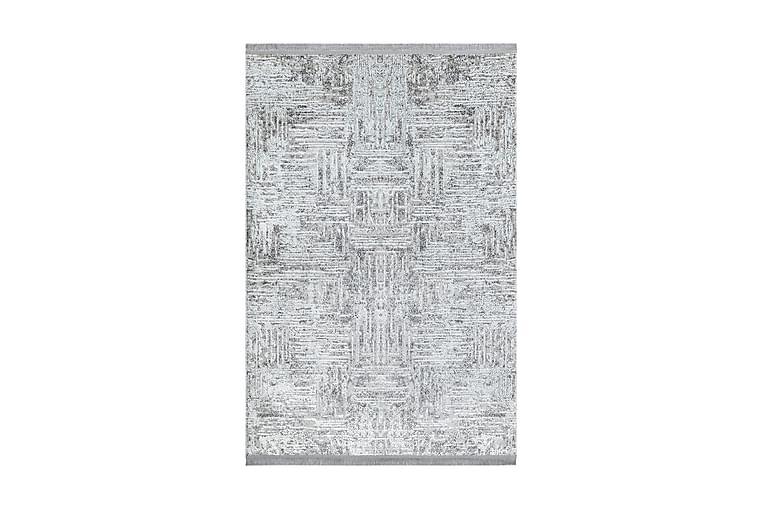 Matto Malkam 120x180 cm - Harmaa/Valkoinen - Sisustustuotteet - Matot - Kuviolliset matot