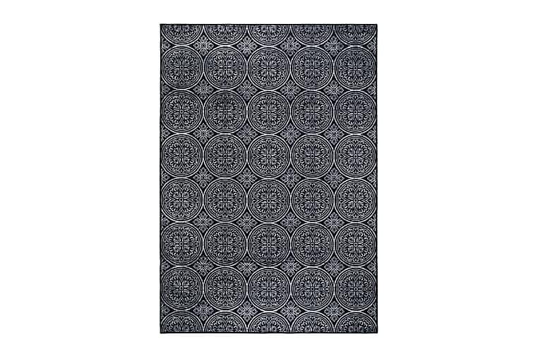 Matto Moderno 133x190 cm - Musta - Sisustustuotteet - Matot - Kuviolliset matot