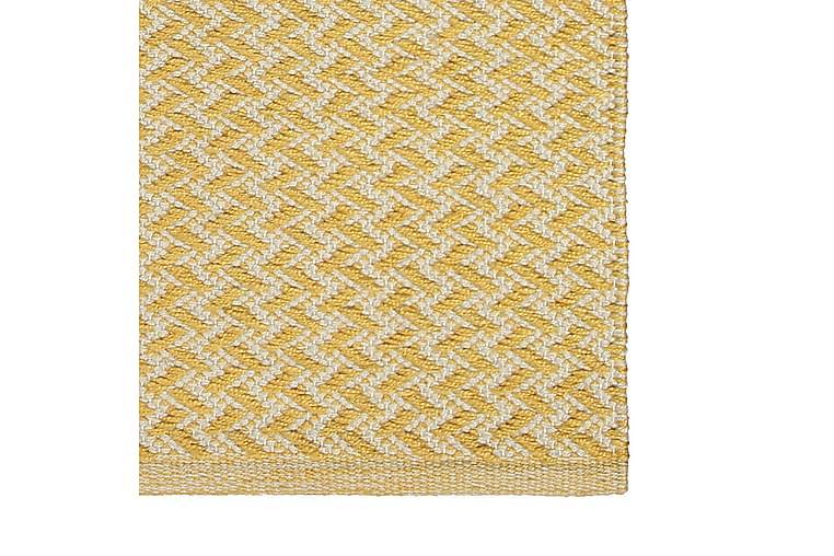 Matto Pispala 50x80 cm Keltainen - Finarte - Sisustustuotteet - Matot - Kuviolliset matot