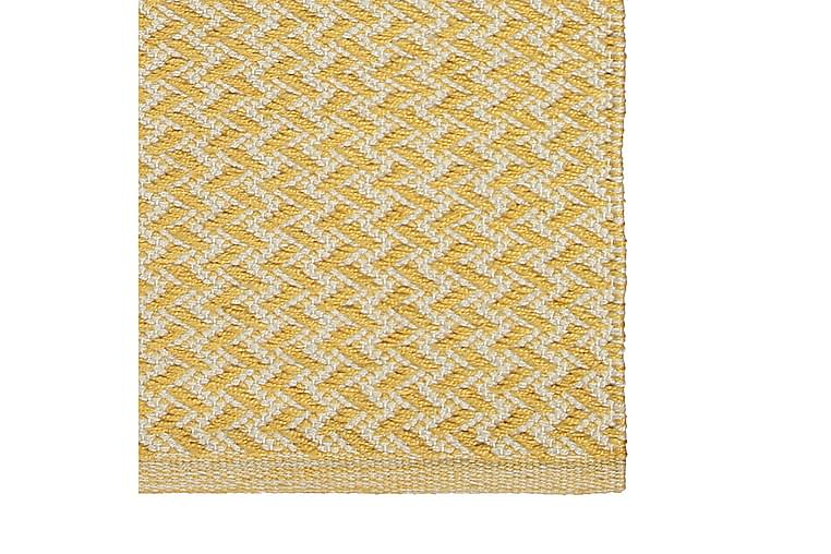 Matto Pispala 80x150 cm Keltainen - Finarte - Sisustustuotteet - Matot - Kuviolliset matot