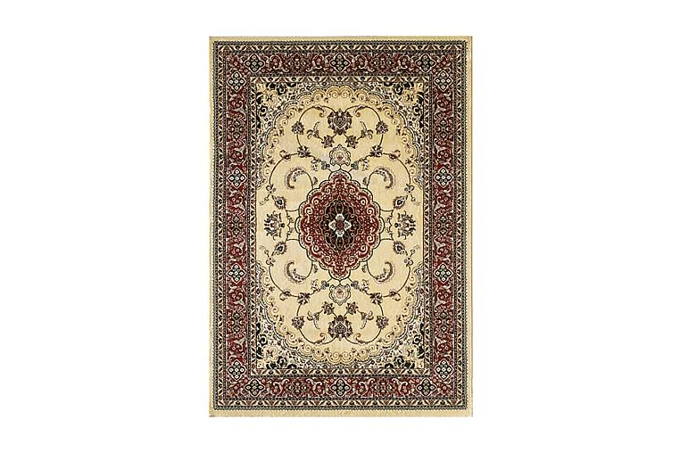 Matto Salerno Beige/Tummanpunainen 80x120 - D-sign - Sisustustuotteet - Matot - Kuviolliset matot