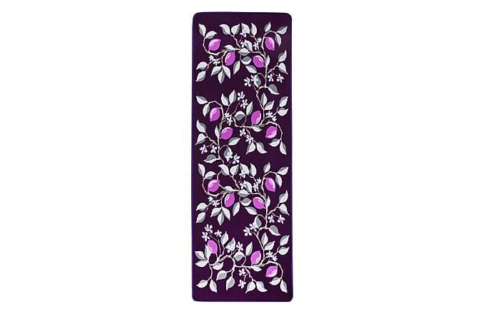 Matto Sitruuna 80x200 cm Violetti - Vallila - Sisustustuotteet - Matot - Kuviolliset matot