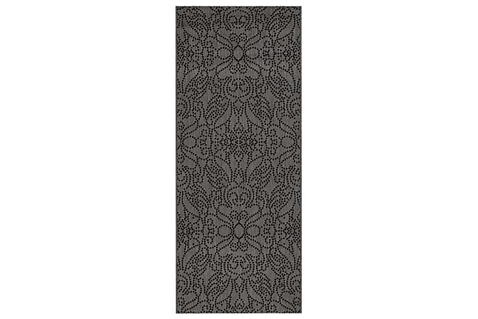 Matto Soulmate 80x400 cm Harmaanmusta - Vallila - Sisustustuotteet - Matot - Kuviolliset matot