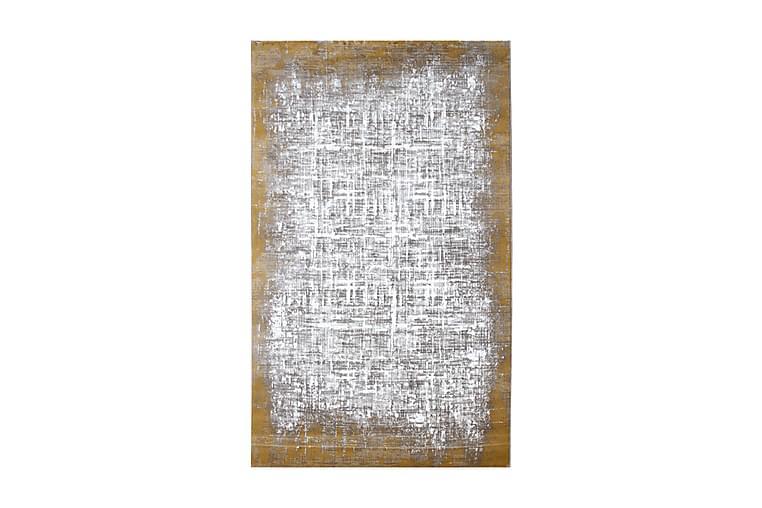Matto Tacettin 120x170 cm - Keltainen/Harmaa - Sisustustuotteet - Matot - Kuviolliset matot