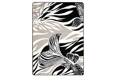 Virta Matto 160x230 cm, blackwhite