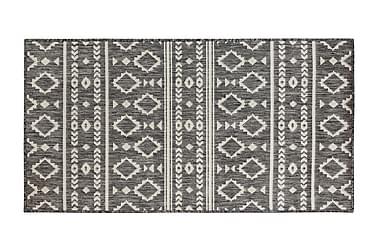 Yleismatto Inka 80x300 cm harmaa/valkoinen