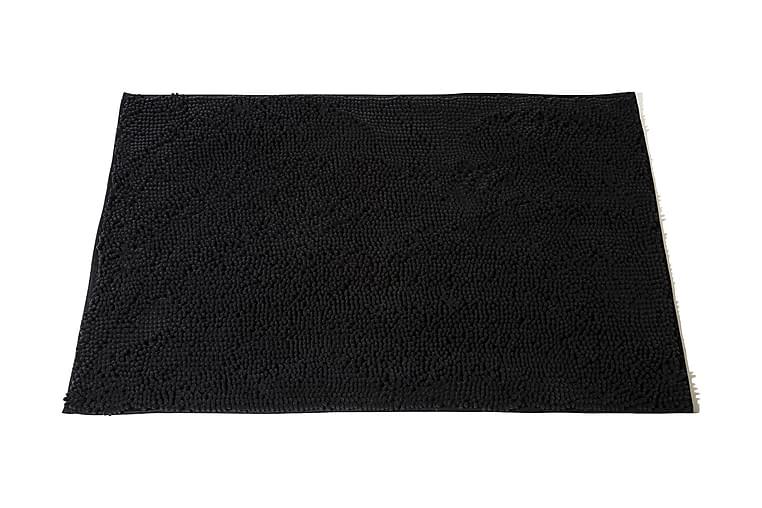Kylpyhuonematto Lord Nelson 90x60 - Musta - Sisustustuotteet - Kodintekstiilit - Kylpyhuoneen tekstiilit