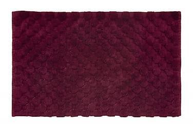 Matto Dot 100x60 Viininpunainen
