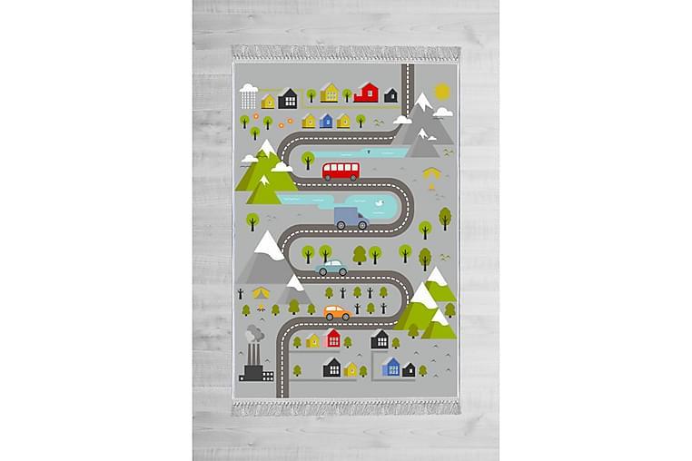 Lastenmatto Burono 80x120 cm - Monivärinen - Sisustustuotteet - Matot - Lasten matot