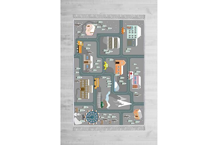 Lastenmatto Helens 100x200 cm - Monivärinen - Sisustustuotteet - Matot - Lasten matot