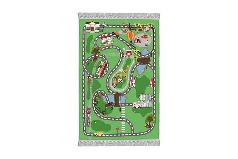 Lastenmatto Sanktel 100x150 cm - Monivärinen - Sisustustuotteet - Matot - Lasten matot