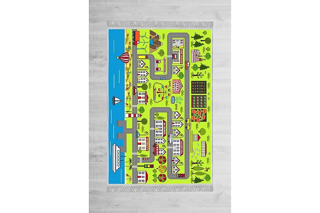 Lastenmatto Welshpool 120x180 cm - Monivärinen - Sisustustuotteet - Matot - Lasten matot