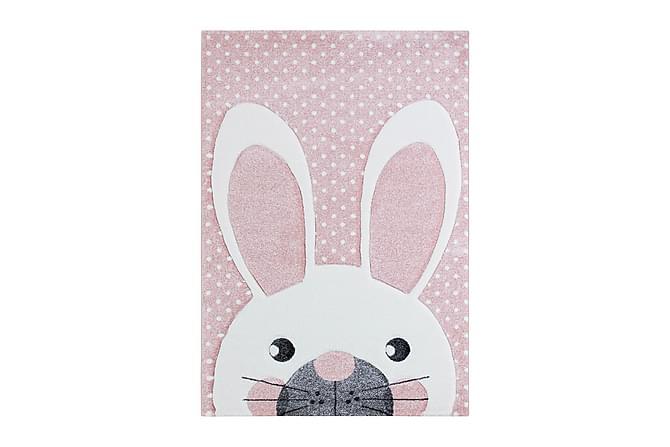 London Rabbit Roosa - Sisustustuotteet - Matot - Lasten matot
