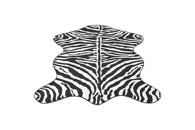 Muotoiltu matto 150x220 cm Seeprakuvio - Musta - Sisustustuotteet - Matot
