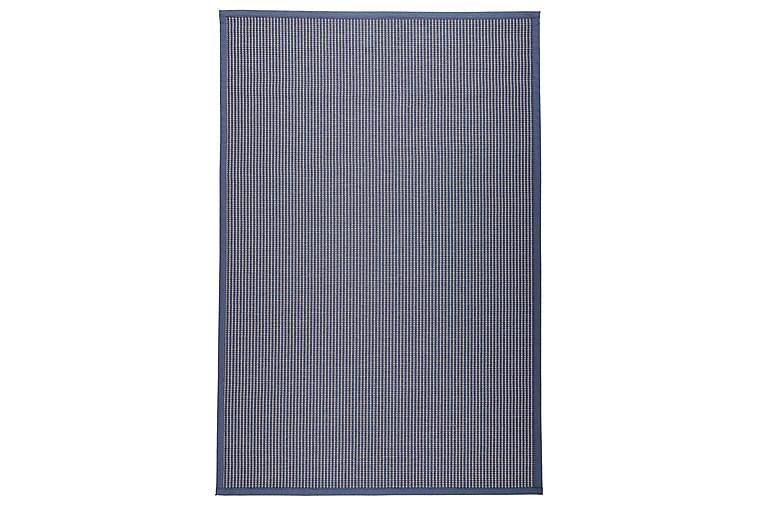 Matto Lyyra 80x200 cm Sininen - VM Carpet - Kylpyhuone - Kylpyhuonetarvikkeet - Liukuestematot
