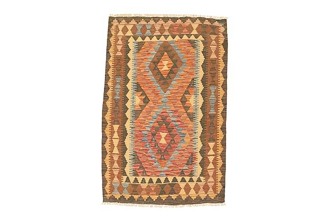 Itämainen Kelimmatto Afghan 92x137 - Monivärinen - Sisustustuotteet - Matot - Marokkolaiset matot