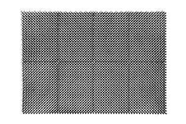 Hestia ruohomatto 43x60cm musta
