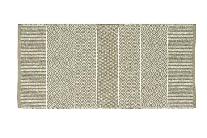 Matto Mix Alice 200x250 PVC/Puuvilla/Polyesteri Vaaleanvihr - Horredsmattan - Sisustustuotteet - Matot - Muovimatot
