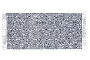 Matto Mix Goose 70x350 PVC/Puuvilla/Polyesteri Sininen