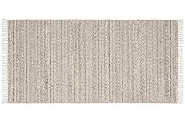 Matto Mix Svea 70x140 PVC/Puuvilla/Polyesteri Hiekka