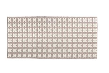 Muovimatto Cross 70x150 Käännettävä PVC Roosa