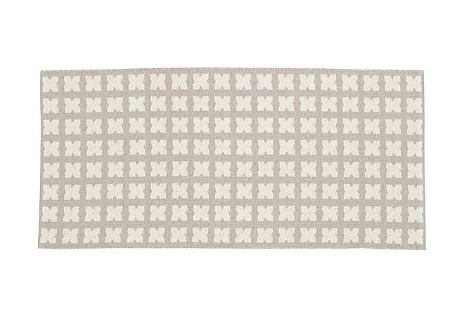 Muovimatto Cross 70x350 Käännettävä PVC Beige - Horredsmattan - Sisustustuotteet - Matot - Muovimatot