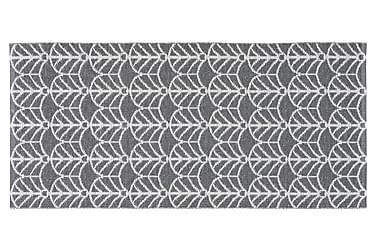 Muovimatto Deco 150x200 Käännettävä PVC Grafiitti
