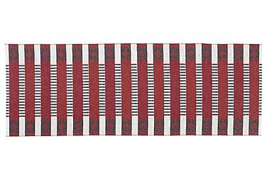 Muovimatto Märta 150x150 Käännettävä PVC Punainen