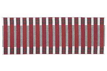 Muovimatto Märta 70x100 Käännettävä PVC Punainen