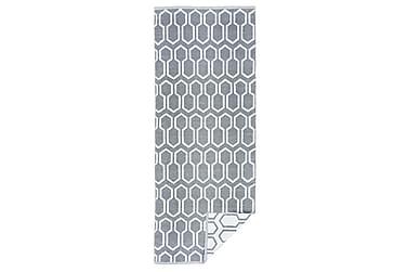 Muovimatto Nikko 140x200 cm harmaa/valkoinen