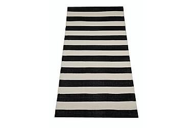 Muovimatto Riitta 70x150 cm musta/valkoinen