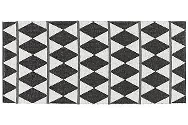 Muovimatto Zigge 70x100 Käännettävä PVC Musta