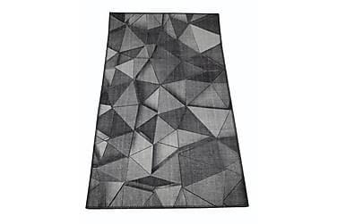 Chenillem. Kolmiot 80x150 cm t.harmaa