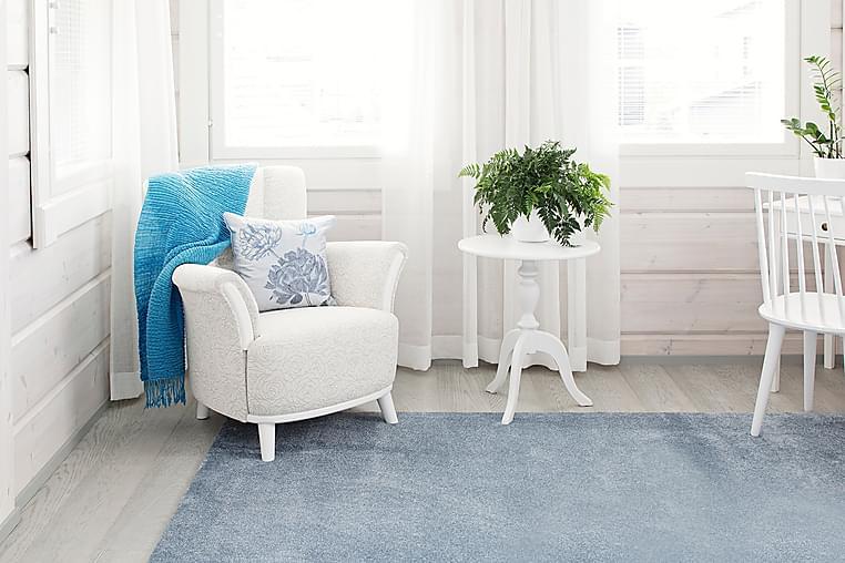 Matto Hattara 80x250 cm Sininen - VM Carpet - Sisustustuotteet - Matot - Nukkamatot