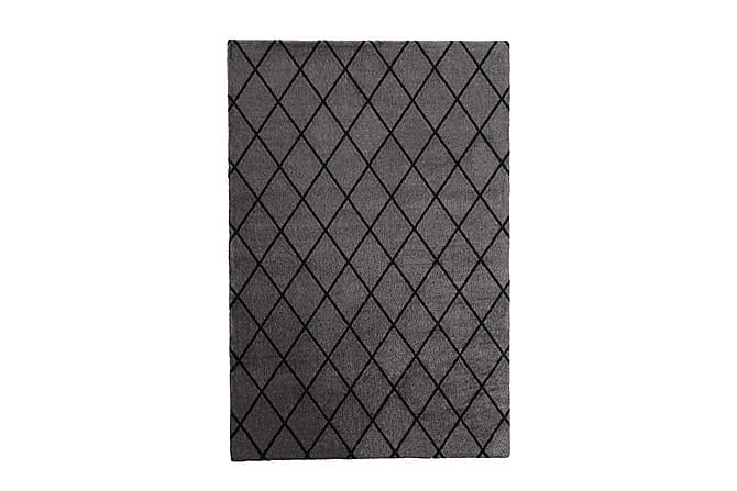 Matto Salmiakki 80x300 cm Harmaa/Musta - VM Carpet - Sisustustuotteet - Matot - Nukkamatot