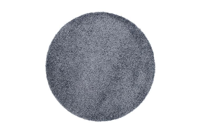 Matto Supreme 120 Pyöreä - Sininen - Sisustustuotteet - Matot - Pyöreät matot