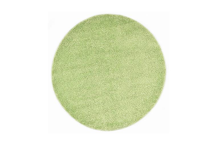 Shaggy-matto 67 cm vihreä - Vihreä - Sisustustuotteet - Matot - Pyöreät matot