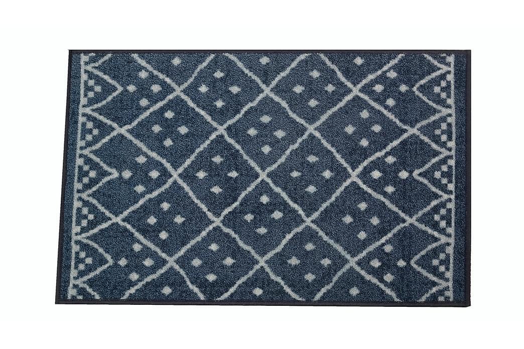 Kynnysmatto Päivi 50x80 cm Sininen - Jysmä - Sisustustuotteet - Matot - Eteisen matot & kynnysmatot