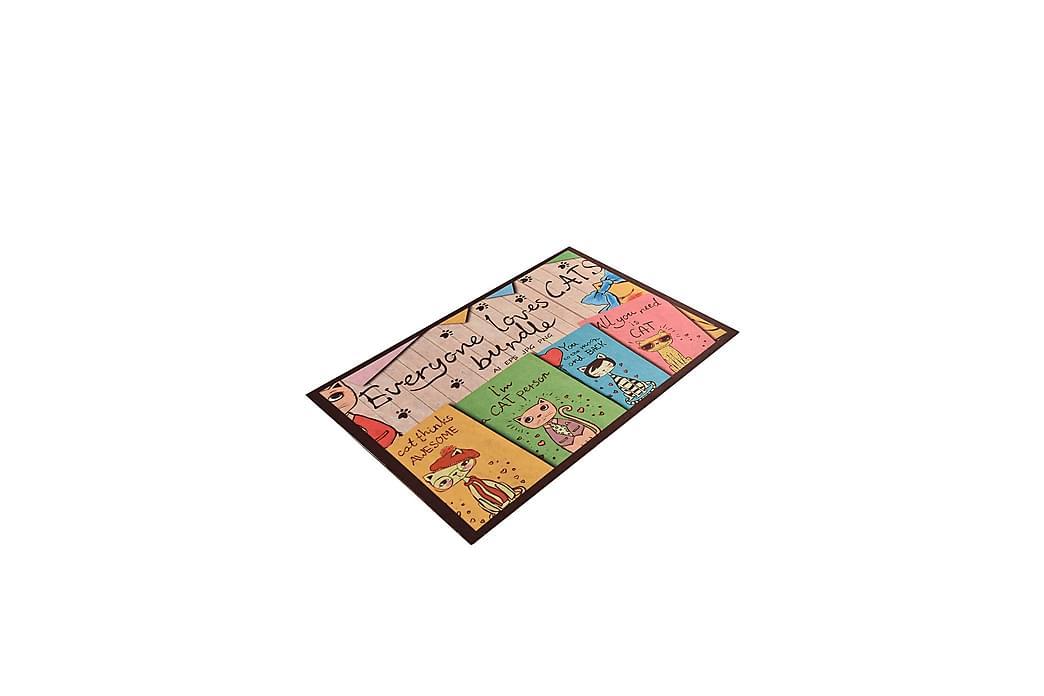 Ovimatto Bundle 45x70 cm - Monivärinen - Sisustustuotteet - Matot - Eteisen matot & kynnysmatot