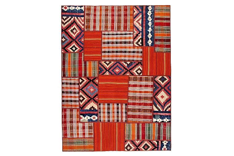 Käsinsolmittu Persialainen Matto 115x232 cm Kelim - Monivärinen - Sisustustuotteet - Matot - Patchwork-matot