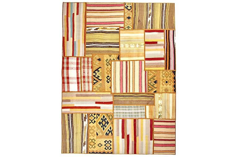Käsinsolmittu Persialainen matto 130x334 cm Kelim - Monivärinen - Sisustustuotteet - Matot - Patchwork-matot