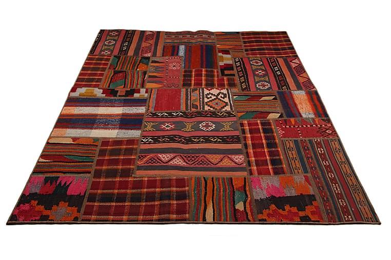 Käsinsolmittu Persialainen matto 131x320 cm Kelim - Sisustustuotteet - Matot - Patchwork-matot