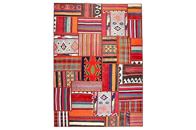 Käsinsolmittu Persialainen Matto Tilkku 165x233 cm - Monivärinen - Sisustustuotteet - Matot - Patchwork-matot