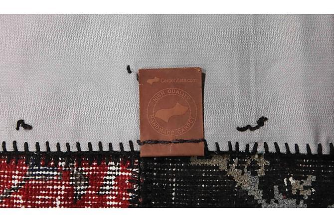 Patchworkmatto Black & White 141x198 Moderni - Monivärinen - Sisustustuotteet - Matot - Patchwork-matot