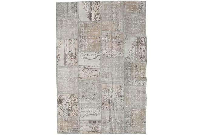 Patchworkmatto Black & White 156x232 Moderni - Beige/Harmaa - Sisustustuotteet - Matot - Patchwork-matot