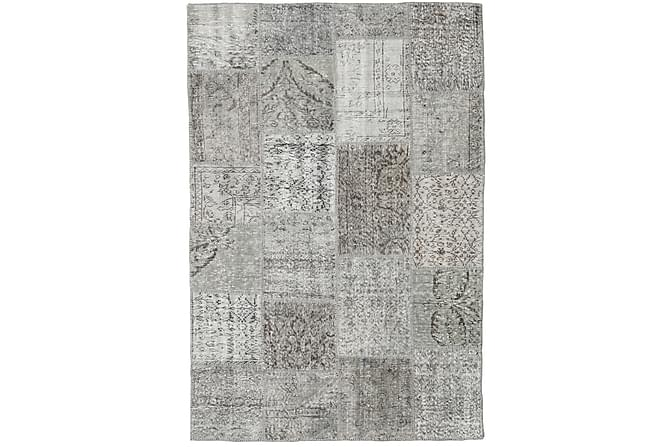 Patchworkmatto Black & White 156x234 Moderni - Harmaa - Sisustustuotteet - Matot - Patchwork-matot